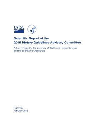 DietaryGuidelinesPrelim2015